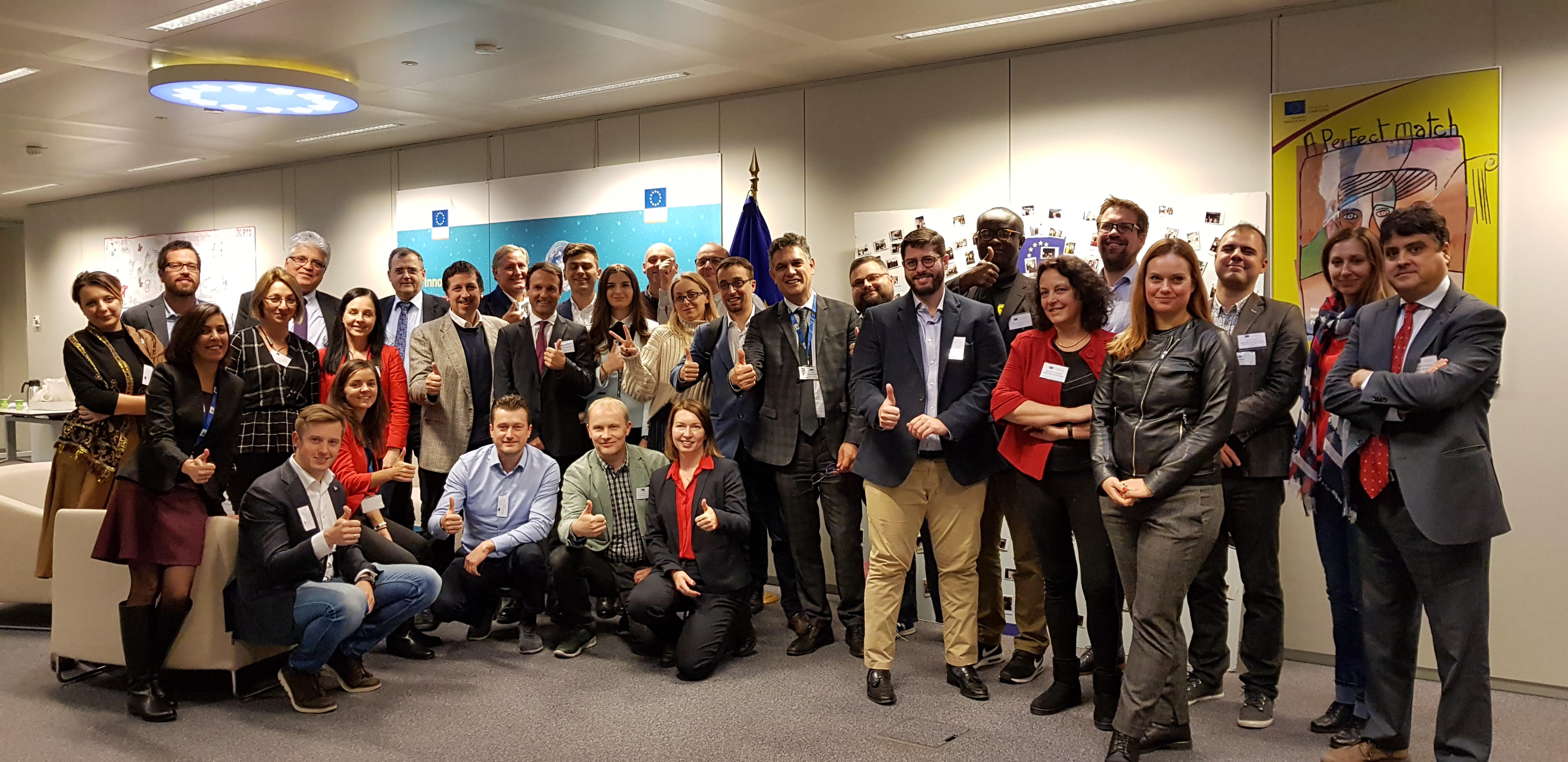 Actum4, invited by the EC to a Workshop about Horizon Europe